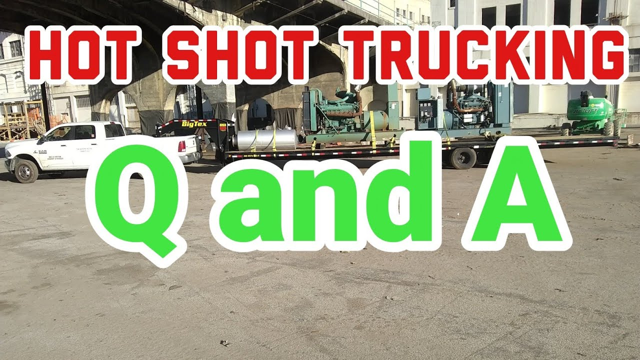 Hot Shot Trucking Business Q and A, Loadboards, Dispatch, Factoring