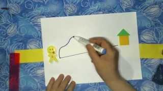 Развивающие уроки для детей от 3 лет: Прямая линия