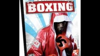 Jimmy does Don King Boxing (Wii)