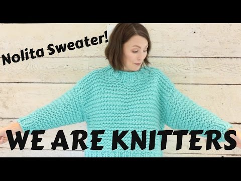 Finished Object: We are Knitters Nolita Sweater