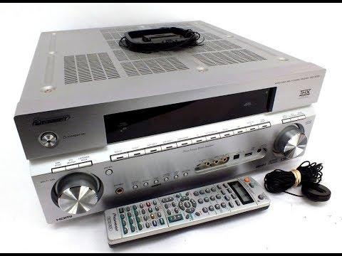 PIONEER VSX-1016V-S Audio Video AV 7.1 Multi-Channel Receiver Review