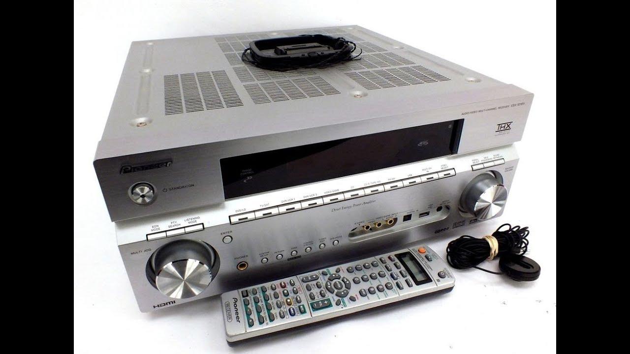 PIONEER VSX-1016V-S Audio Video AV 7 1 Multi-Channel Receiver Review