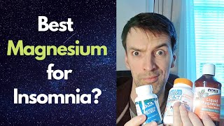Why Magnesium is a MUST for Insomnia and Best Type to Take