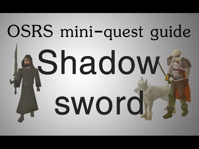 OSRS] The General's Shadow mini-quest guide