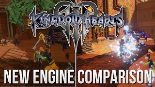 Kingdom Hearts 3 - New Engine Comparison - Unreal Engine 4