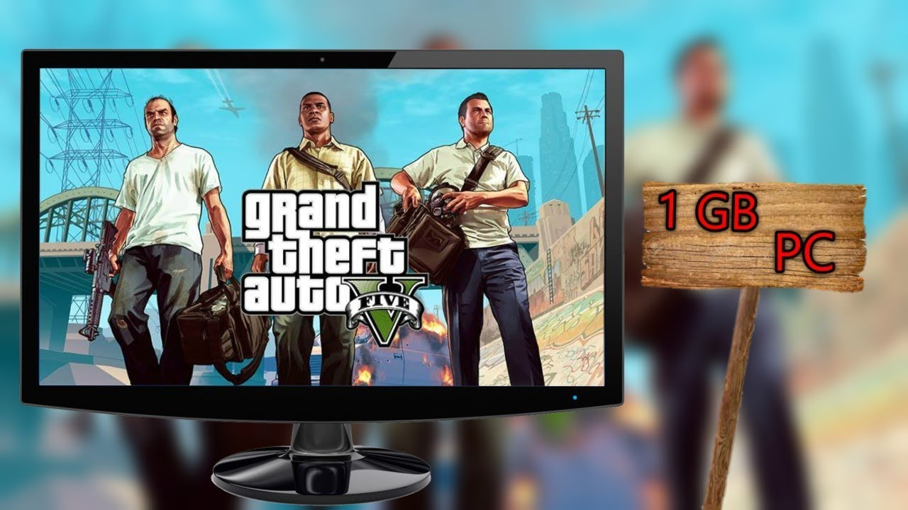 [1 GB] GTA 5 for PC Highly Compressed in just 1 GB