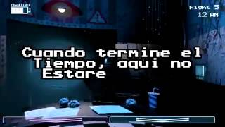 Fnaf El Tipo Del Teléfono song (sub español)