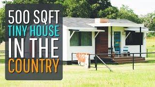 The 500sqft Modern Tiny House