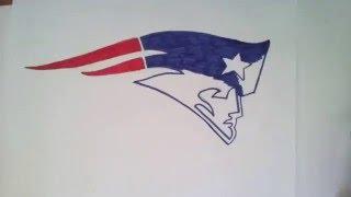 How to Draw New England Patriots logo