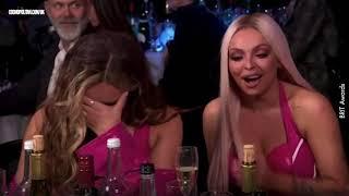 Brit Awards 2019 most awkward moments | Little Mix & Jack Whitehall  | Cosmopolitan UK