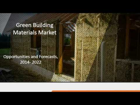 Green Building Materials Market growth across the globe