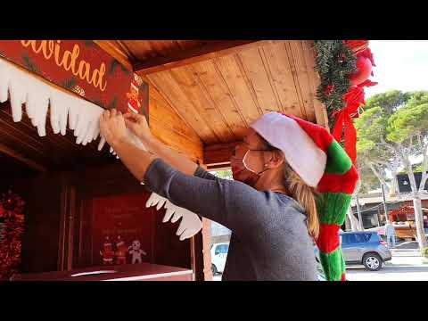 Weihnachtsmarkt in Cala Ratjada bei Paradise und El Gaucho 06.12.20