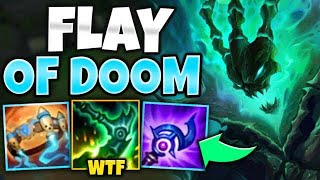 WTF?! FULL AP THRESH WILL SKIN YOUR ENEMIES ALIVE!! (CRAZY FLAYS) - League of Legends