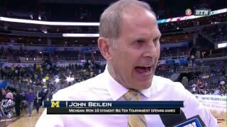 Michigan vs. Illinois - 2017 Men's Basketball Tournament Highlights