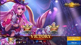 Heroes Arena Xenna trong tay Lucifer Best full HD