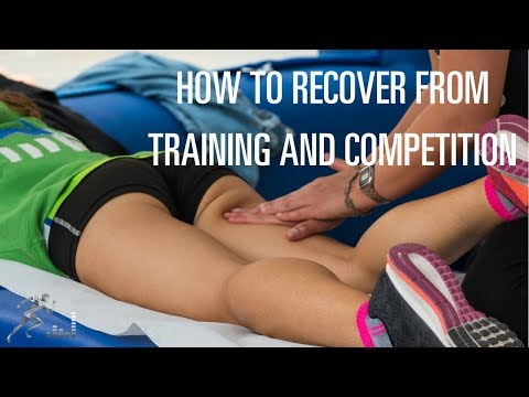 Tips for recovery from training and competition