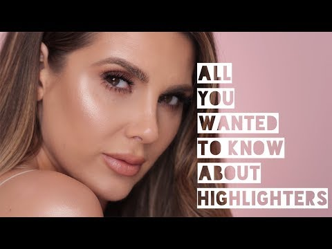 ALL ABOUT HIGHLIGHTERS: HOW TO APPLY ,TEXTURE, SWATCHES | ALI ANDREEA