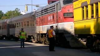 ITM Train Switching in Noblesville, Indiana