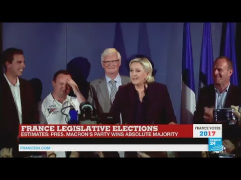 "Marine Le Pen: ""Record abstention weakens the legitimacy of France's new parliament"""