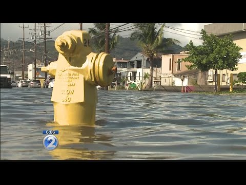 King tides make appearance on Oahu