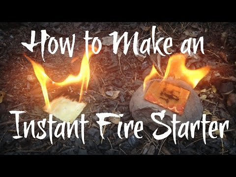 Make an Instant Fire Starter With Your Scented Wax Melter