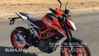 New KTM Duke 390 Details | Walkaround | First Look Review