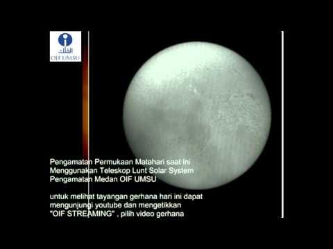 OIF UMSU - Post Eclipse Sun Observation
