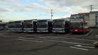 KEIKYU OPEN TOP BUSを見に京浜急行バス三崎営業所(三崎東岡)へ行ってみた