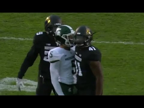 Michigan State vs Northwestern Football 2017 Highlights