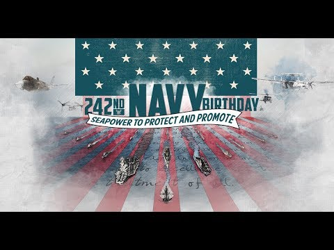 SECNAV Spencer's 242nd Navy Birthday Message