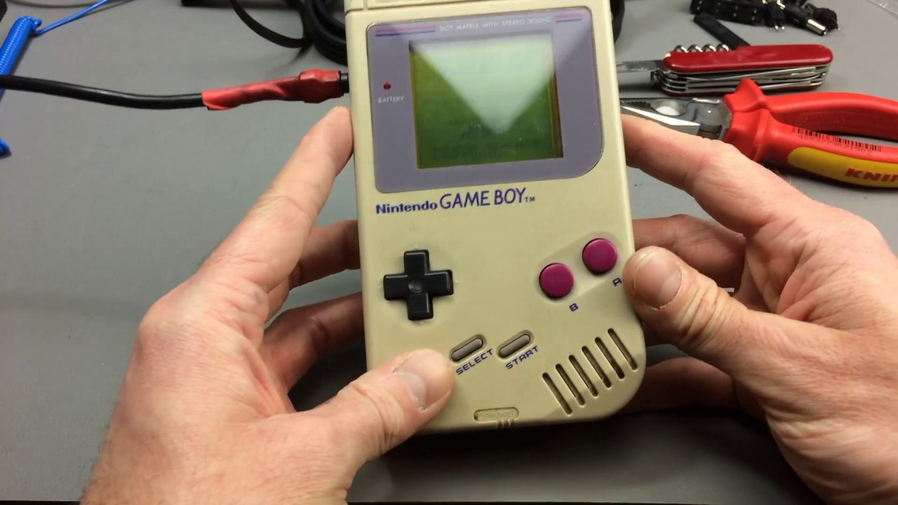 Nintendo Gameboy Dmg 01 Restoration And Mods Youtube