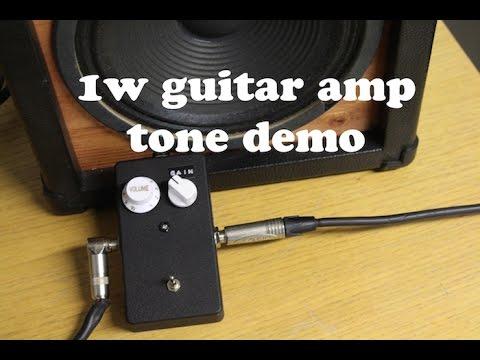 diy 1w guitar amp head demo gabepedals parts jensen ch8 20 youtube. Black Bedroom Furniture Sets. Home Design Ideas