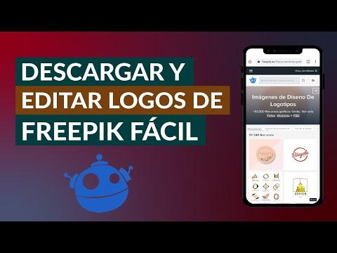 Cómo Descargar y Editar Logos e Iconos de Freepik Fácil y Rápido