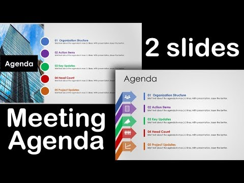 Best Agenda Template 1 Animated PowerPoint Slide Design Tutorial