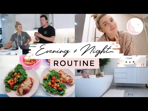EVENING + NIGHT ROUTINE/ HEALTHY + PRODUCTIVE FAMILY ROUTINE/ How I Get Organised / Daily Cleaning