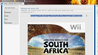 Descargar Fifa World Cup 2010 South Africa Español (WiiScrubber)