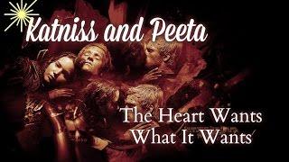 Katniss and Peeta - The Heart Wants What It Wants