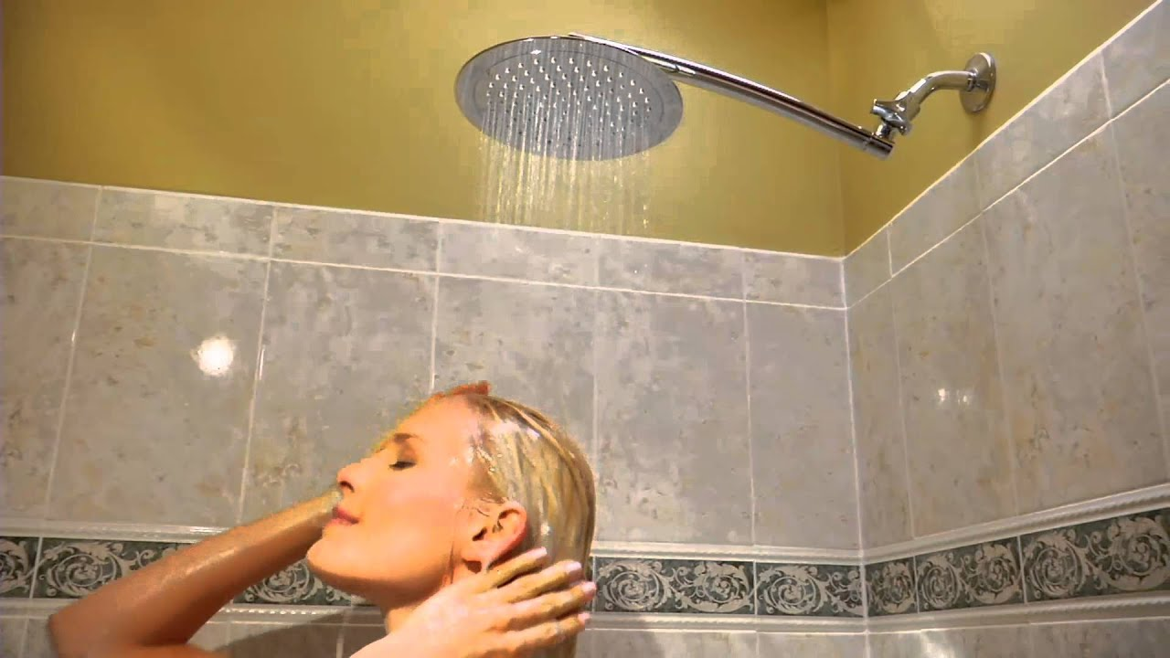 Hotelspa 9 Large Round Or Square Rainfall Shower Head On Qvc