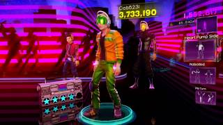 Dance Central 3 - Supersonic (Hard) - J.J. Fad - Gold Stars