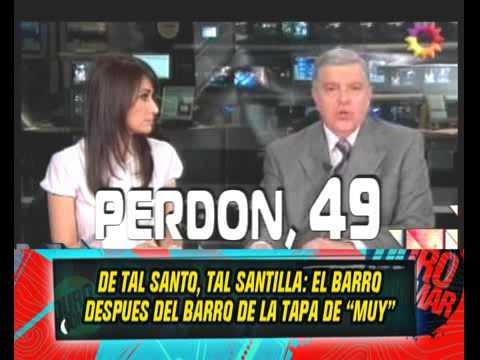 """María Laura llegó tarde a la apertura de """"Telenoche"""" y Santo puso el grito en el cielo"""