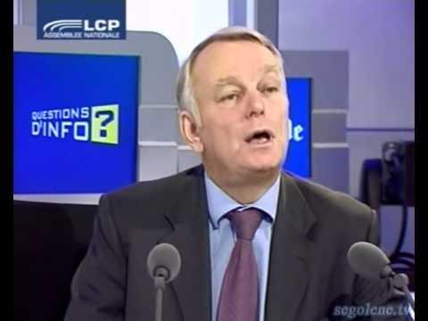 """Jean-Marc Ayrault : interview émission 'questions d'infos"""" sur LCP"""
