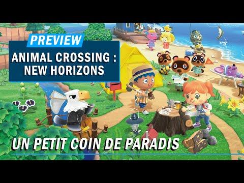 ANIMAL CROSSING : UN PETIT COIN DE PARADIS