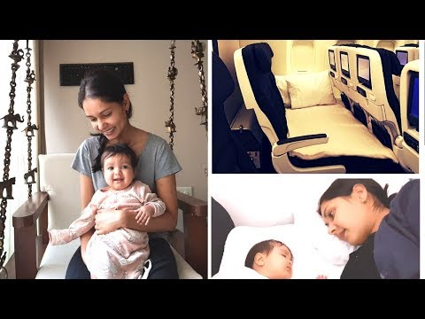 Travelling Home from India | Air New Zealand Skycouch Review