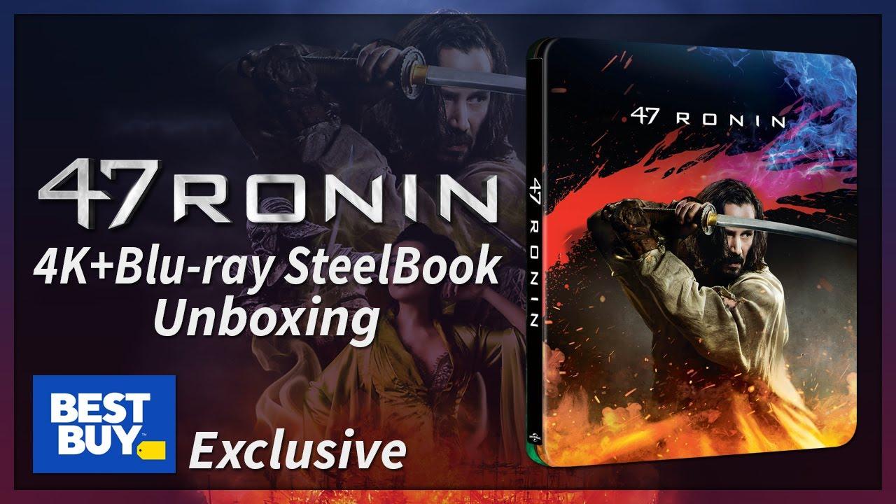 Download 47 Ronin Best Buy Exclusive 4K+2D Blu-ray SteelBook Unboxing