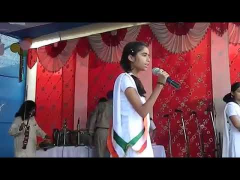 स्वतंत्रता दिवस 2017 पर भाषण, छोटी बच्ची का