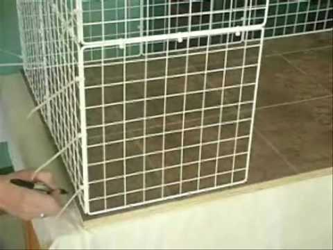 How to build a rabbit condo youtube for Build indoor rabbit cage