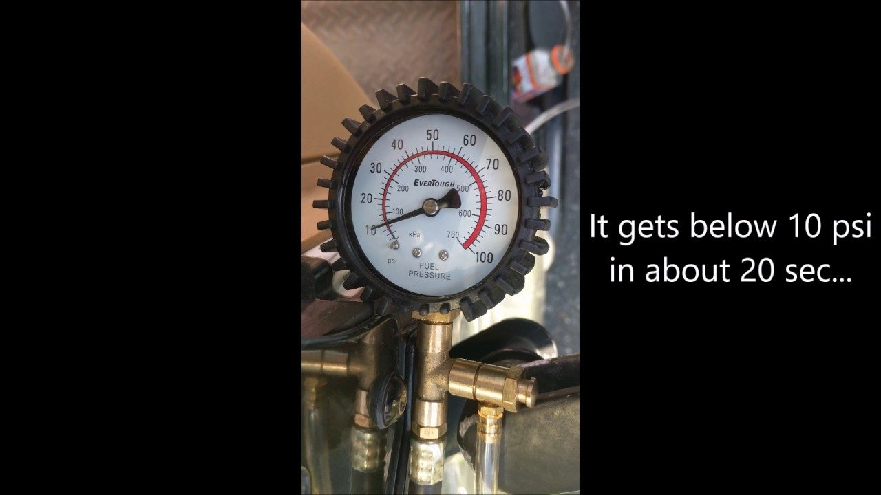 1998 Jeep Tj Fuel Pressure Test Youtube 97 Filter