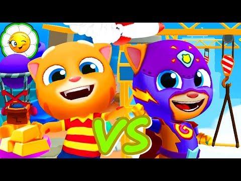 Том за золотом VS Том погоня героев #20  Говорящий Джинджер VS Супергерой Джинджер!