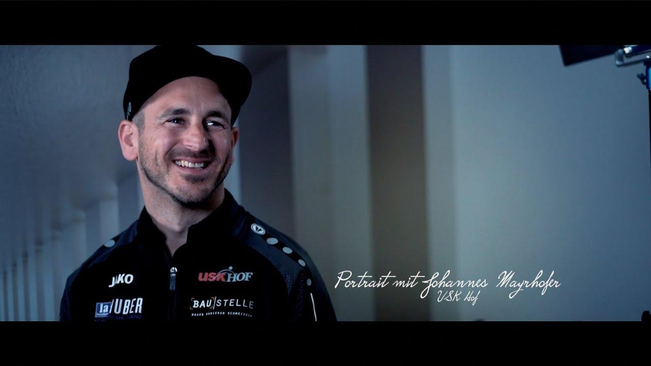 Portrait mit Johannes Mayrhofer vom USK Hof
