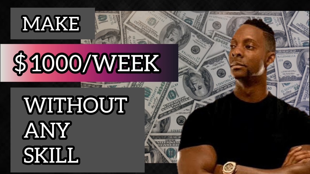 Earn  1000 per week Online Without Any Skill - Wesley Virgin